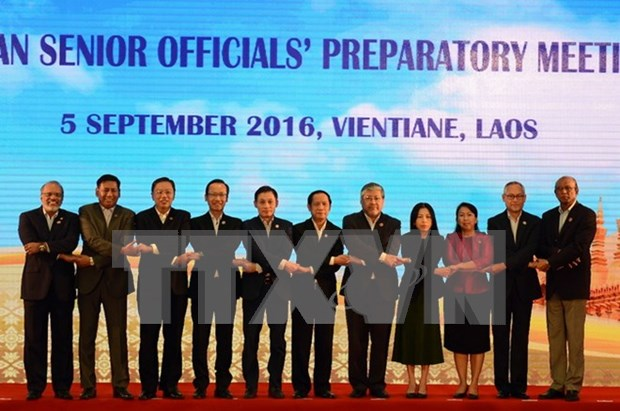 Vietnam participa en reunion de altos funcionarios de ASEAN en Filipinas hinh anh 1