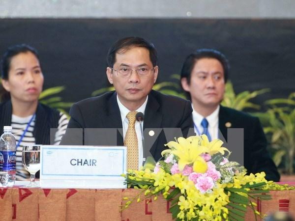Vietnam interviene en Consejo Consultivo Empresarial de APEC en Tailandia hinh anh 1