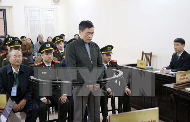 Dos exfuncionarios de Vinashinlines condenados a muerte por desfalco hinh anh 1