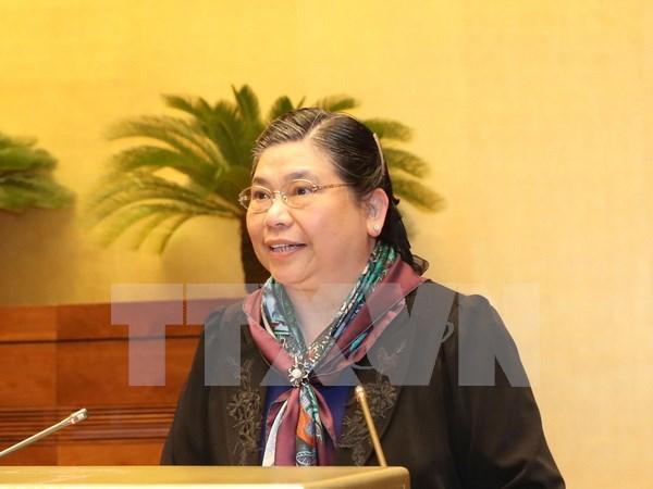 Vietnam respeta y protege los derechos humanos, afirma vicepresidenta del Parlamento hinh anh 1