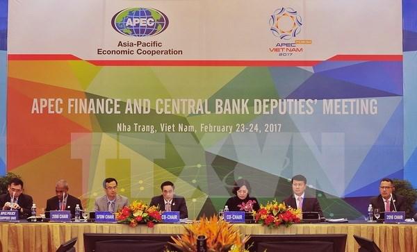 APEC evalua perspectivas economicas y financieras mundiales y regionales hinh anh 1