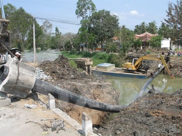 Provincia vietnamita trabaja para garantizar agua potable en distritos costeros hinh anh 1