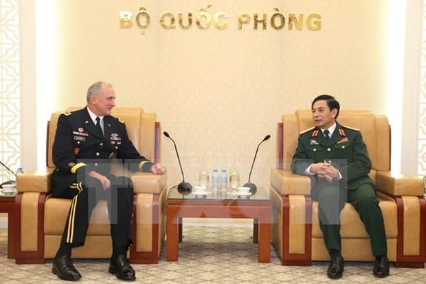 Destacan cooperacion militar Vietnam – Estados Unidos hinh anh 1