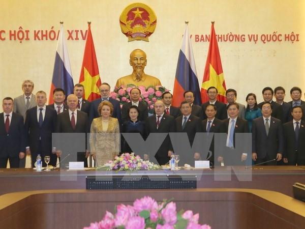 Presidenta de Senado ruso concluye visita a Vietnam hinh anh 1