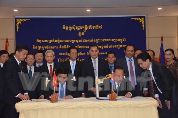 Vietnam y Camboya intensifican intercambios en sector de planificacion hinh anh 1