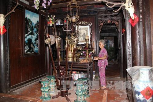 Casa de 123 anos de antiguedad en Tay Ninh reconocida como reliquia arquitectonica hinh anh 1