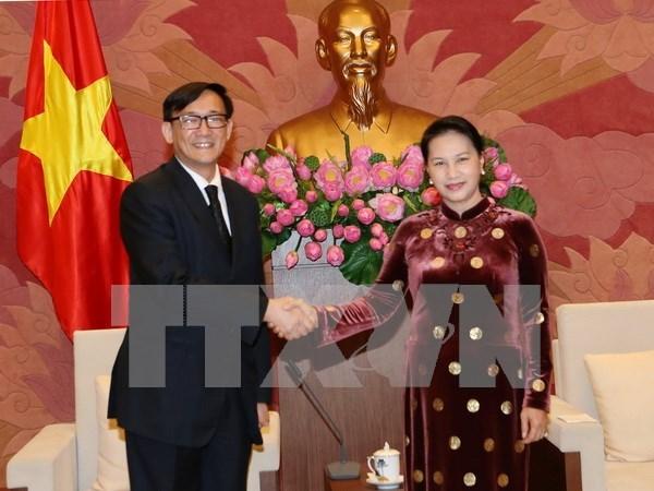 Parlamento de Vietnam dispuesto a generar mejores condiciones para inversores tailandes hinh anh 1