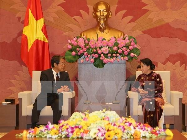 Presidenta de Asamblea Nacional valora visita a Vietnam del emperador Akihito hinh anh 1