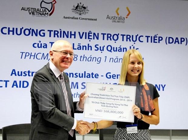 Australia financia 11 proyectos comunitarios en Vietnam hinh anh 1
