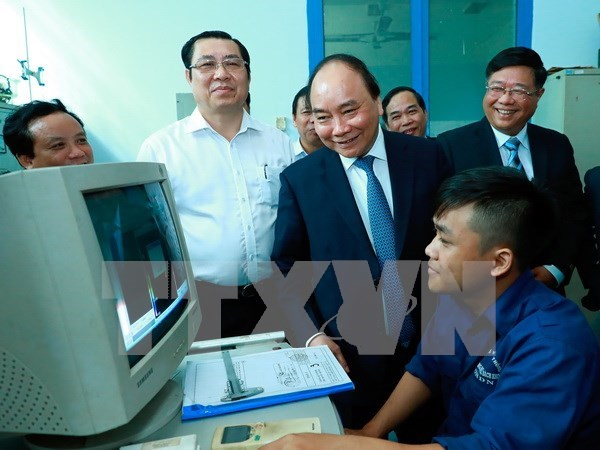 Premier pide a Universidad Da Nang mejorar continuamente calidad de formacion hinh anh 1