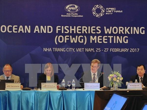APEC busca desarrollar y explotar sosteniblemente recursos acuaticos hinh anh 1