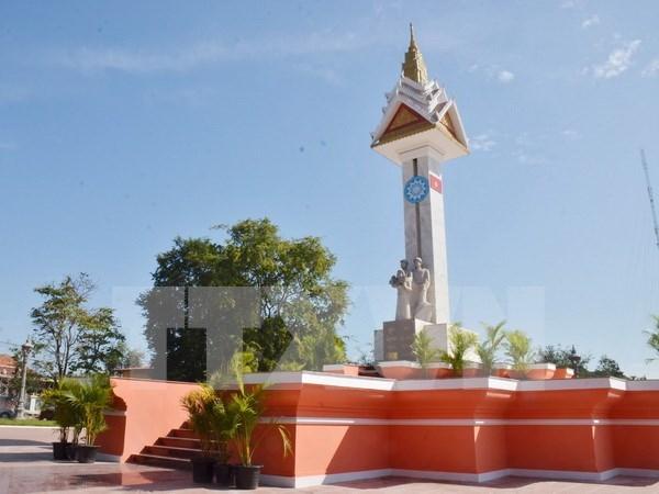 Finaliza restauracion del Monumento de Amistad Vietnam - Camboya en Preah Vihear hinh anh 1