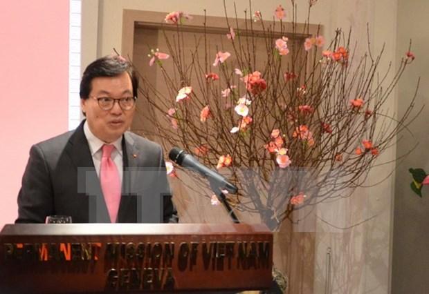 Vietnam y Suiza agilizan relacion binacional multifacetica hinh anh 1