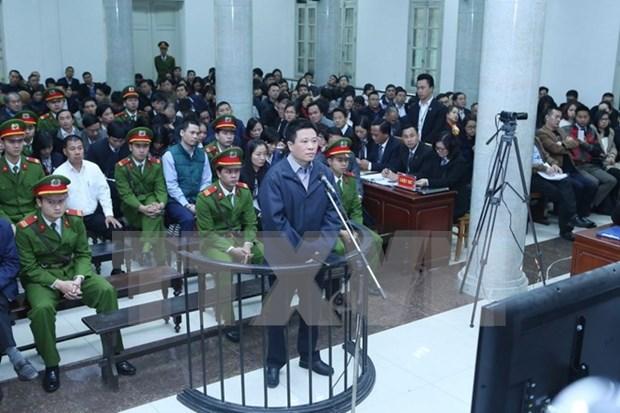 Abre en Vietnam juicio de primera instancia contra expresidente de Oceanbank hinh anh 1