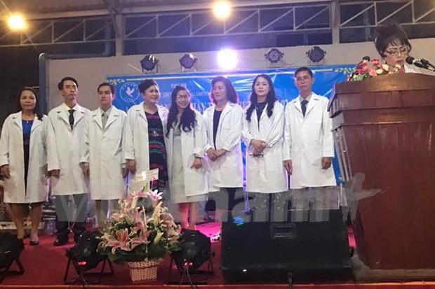 Establecen Asociacion de Medicos de Vietnam en Camboya hinh anh 1