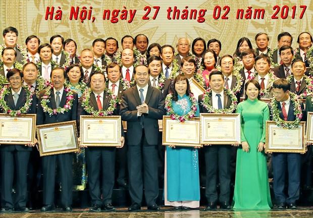 Presidente vietnamita: Sector de salud satisface creciente demanda del pueblo hinh anh 1