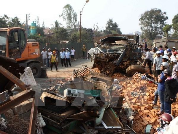 Aumenta en 11 por ciento numero de muertos por accidentes de transito en Vietnam hinh anh 1