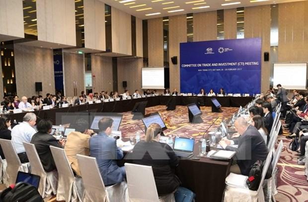Realizan en Vietnam reuniones con representantes de EE.UU y Rusia al margen del APEC hinh anh 1