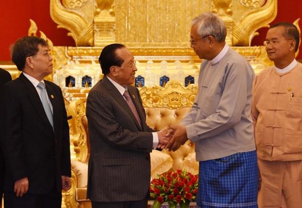 Myanmar y Camboya intensifican cooperacion en educacion y turismo hinh anh 1