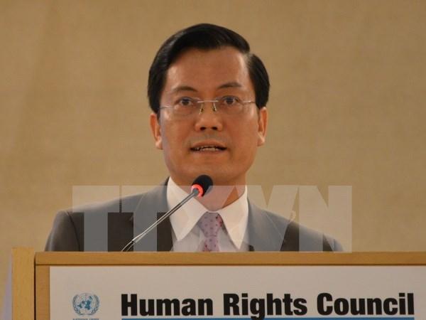 Vietnam decidido a continuar contribuciones a garantia de derechos humanos hinh anh 1