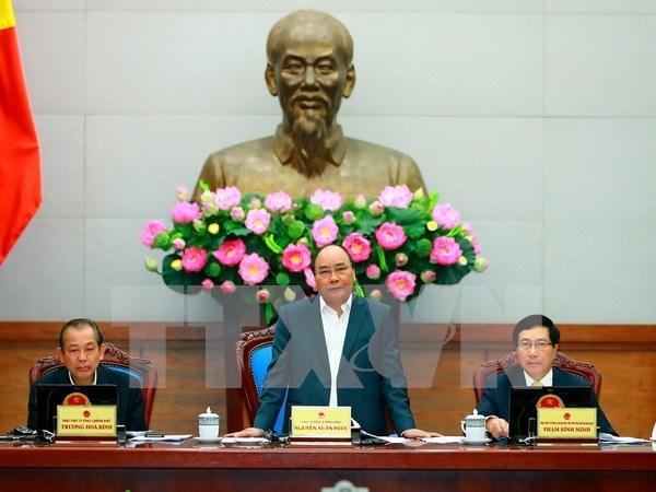 Debaten cuestiones socioeconomicas en reunion ordinaria de Gobierno hinh anh 1