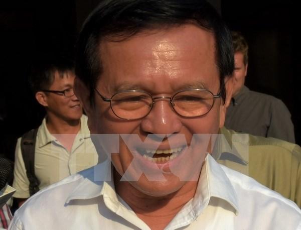 Camboya: CNRP elige a candidatos para cargo de lider partidista hinh anh 1