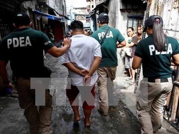 Filipinas incorporara a la policia a campana antidroga hinh anh 1