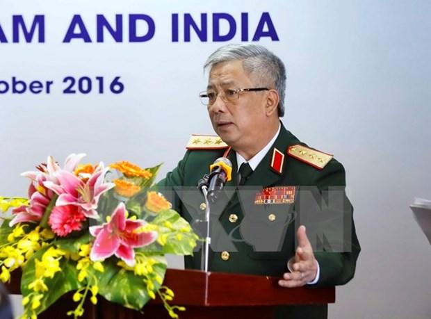 Vietnam e India sostienen dialogo sobre politica de defensa hinh anh 1