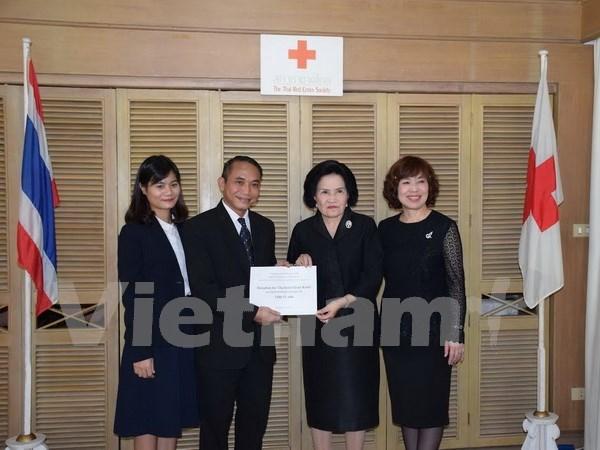 Comunidad vietnamita en Tailandia ayuda a ciudadanos locales hinh anh 1