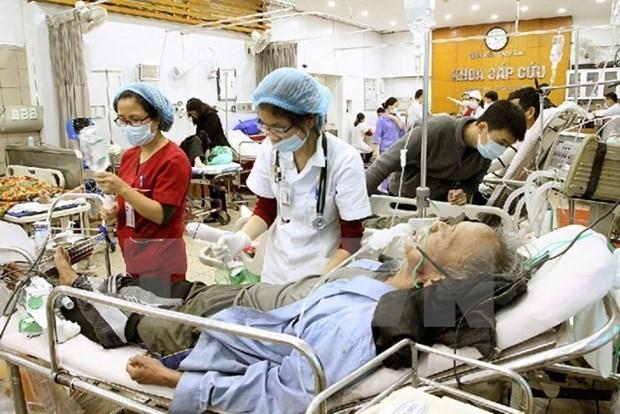 Hanoi comienza a establecer carpeta personal de salud para sus pobladores hinh anh 1