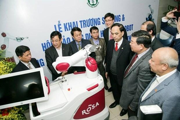 Vietnam utiliza robots en cirugias neurologicas y de articulacion hinh anh 1