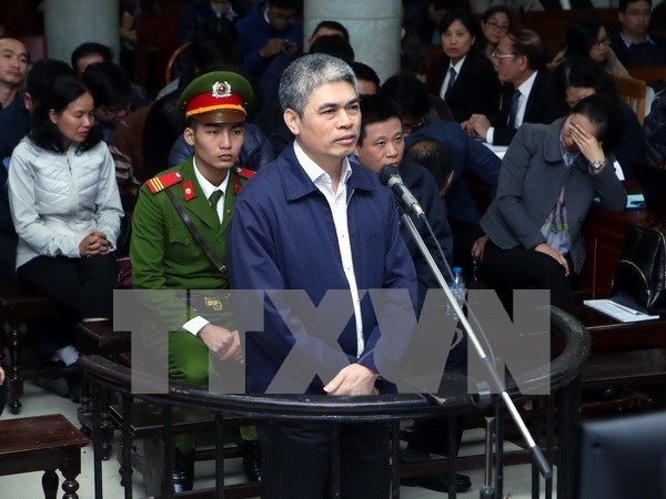 Interroga Tribunal Popular de Hanoi a sujetos de caso de Oceanbank hinh anh 1