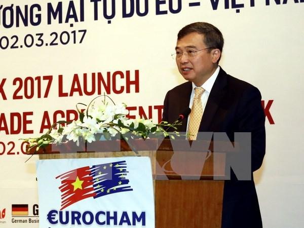 Eurocham: Vietnam es destino atractivo de inversion extranjera directa hinh anh 1
