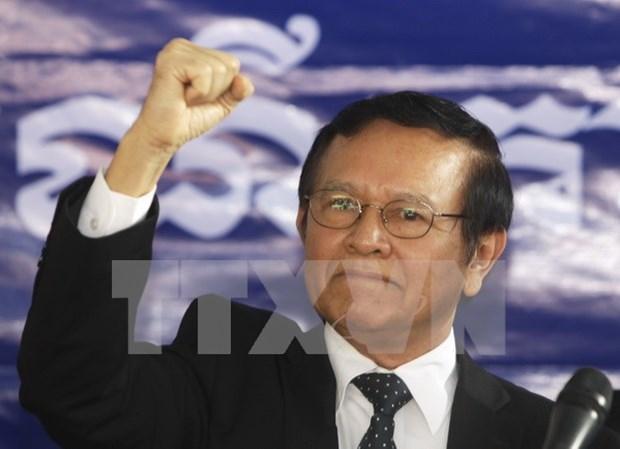 Camboya: Kem Sokha es nombrado presidente del opositor partido CNRP hinh anh 1