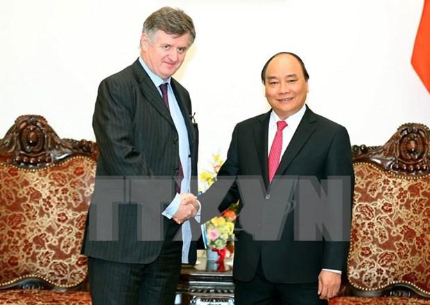 Premier vietnamita afirma respaldo a grupo de aeropuertos de Paris hinh anh 1