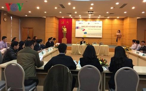 Crean red de empresas emprendedoras de Vietnam hinh anh 1
