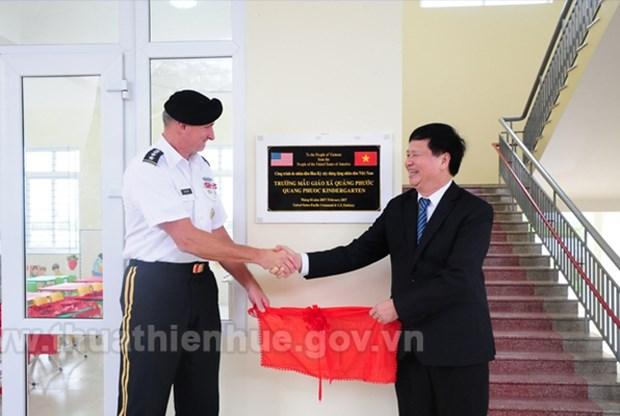Ayuda EE.UU. a provincia vietnamita en la construccion de escuelas hinh anh 1