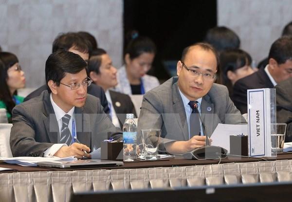 Altos funcionarios debaten prioridades del Ano APEC 2017 hinh anh 1