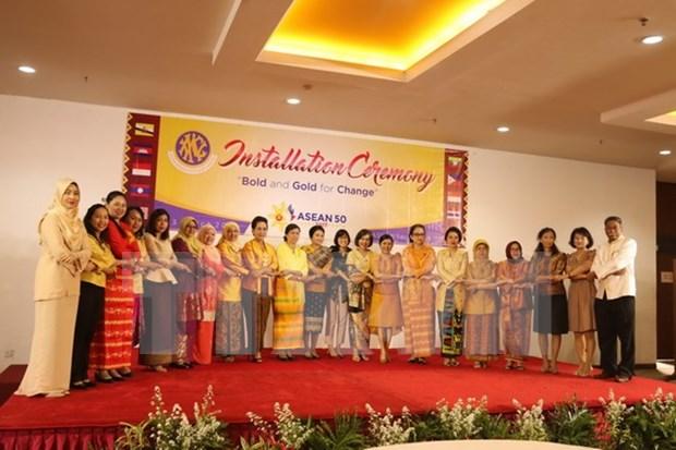 Debuta nuevo comite ejecutivo de la Asociacion de Mujeres de ASEAN hinh anh 1