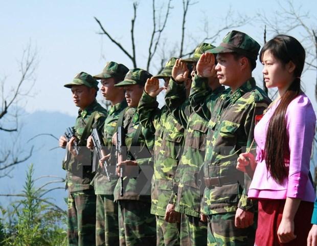 Promueven papel de soldados jovenes en proteccion de fronteras hinh anh 1
