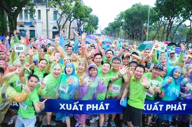 Mas de cinco mil atletas participaran en el Maraton Internacional Da Nang 2017 hinh anh 1