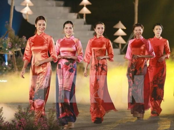 Inauguran en Ciudad Ho Chi Minh Festival de Ao dai hinh anh 1