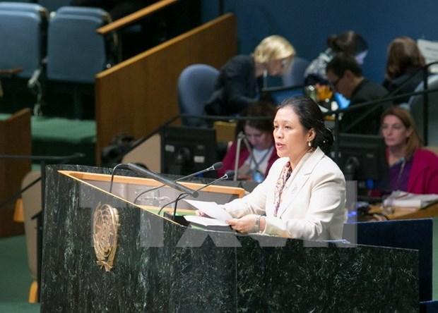 Vietnam exhorta a paises a continuar suministro de ayuda oficial para el desarrollo hinh anh 1