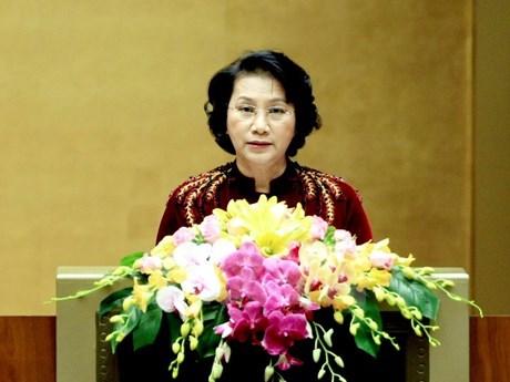 Presidenta parlamentaria destaca apoyo de diplomaticas internacionales a Vietnam hinh anh 1
