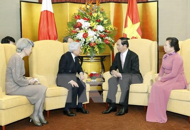Emperador de Japon concluye visita estatal a Vietnam hinh anh 1