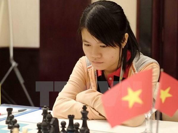 Vietnam asegura otros dos puestos para Copa Mundial de Ajedrez hinh anh 1