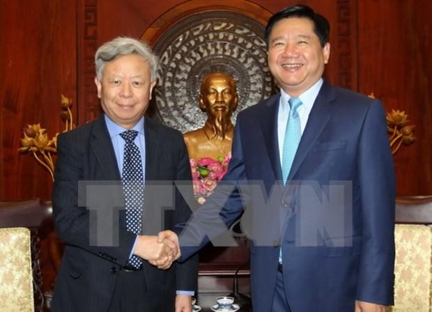 Banco de Inversion para Infraestructura de Asia dispuesto a colaborar con Vietnam hinh anh 1