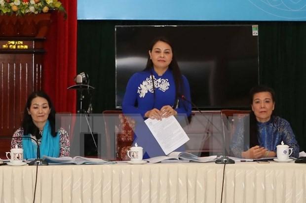 Union de Mujeres vietnamitas firme en lucha por igualdad de genero hinh anh 1