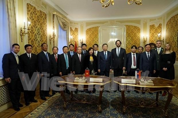 Vietnam y Eslovaquia fomentan cooperacion en lucha contra la delincuencia hinh anh 1