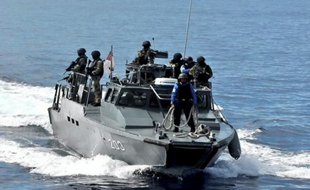 Buque de carga vietnamita rescatado en Malasia hinh anh 1